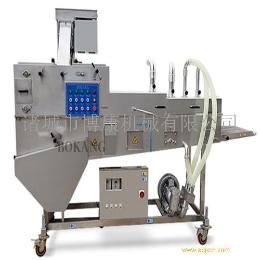 食品机械专业供应商 博康牌无骨鸡柳上粉机 产品图片