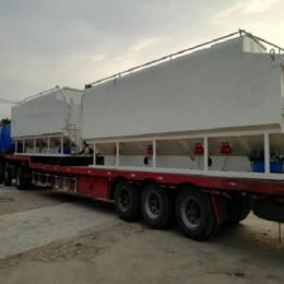 8.4米饲料罐装车 饲料运输设备减少饲料损失