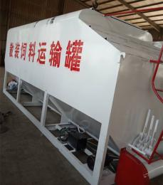 南北新型饲料散装罐车可独立控制各仓卸料顺序和速度