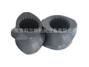 6542料挤出机螺杆螺纹元件,积木式螺套,膨化机螺套/南京科尔特
