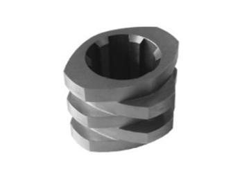 6542料挤出机螺纹块,挤出机啮合块元件,双螺杆螺纹块/南京科尔特