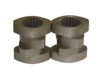 6542料螺纹元件造粒机双螺杆螺套