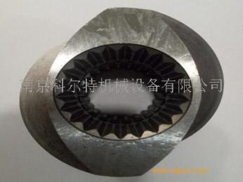 6542料膨化機螺桿螺套,注塑機螺套/南京科爾特