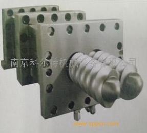 6542料螺纹块,双螺杆螺套/南京科尔特