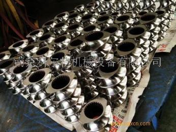 6542料雙螺桿擠出機嚙合塊,擠出機螺桿螺紋套/南京科爾特