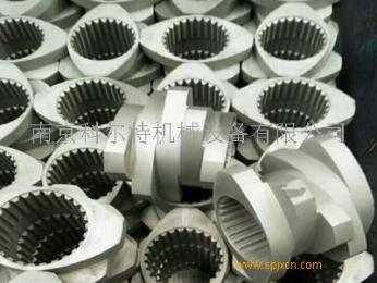 6542料六花鍵螺紋套,造粒機螺紋元件/南京科爾特