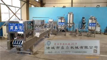 全自动鸭血豆腐生产线 小型血豆腐生产线 盒装血豆腐加工设备