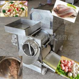 鱼肉去皮机器鱼肉提取机鱼骨分离机