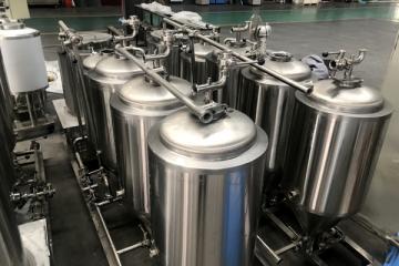 小型啤酒设备,价格,厂家济南豪鲁
