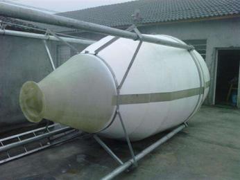 安吉玻璃钢饲料塔设计巧妙养殖户专用