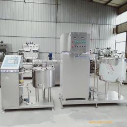冰制冷型巴氏杀菌机 小型鲜奶加工设备