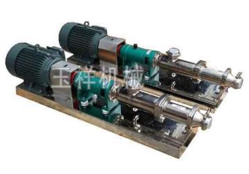 螺杆泵,g型单螺杆泵,浓浆螺杆泵,浓浆泵参数价格