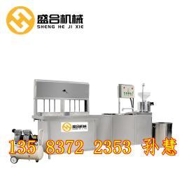 太原多功能豆腐机 全自动豆腐机整机全部不锈钢组成 易操作