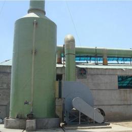沧州盐酸气体吸收喷淋塔方案齐全专业指导