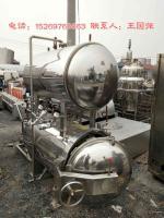 長期回收二手食品殺菌鍋 二手電加熱雙層殺菌鍋