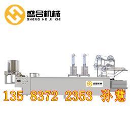 秦?#23454;?#20840;自动豆片机 制作豆片腐机械设备的价格