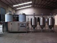 豪鲁纯精酿啤酒设备 鲜啤啤酒设备厂家终生保修