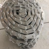 C224AL,C2122大滚珠节距76.2双节距链条 废纸打包机链条