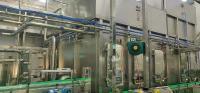 四川興至簡出售一臺二手中亞低溫桶裝牛奶和日化產品灌裝機GF系列