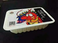 蒜泥小龙虾盒式气调锁鲜包装机