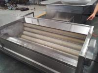 毛刷清洗機  根薯類清洗去皮  昊昌食品機械誠信制造商