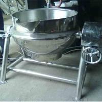 宜良烤鸭夹层锅 香辣鸭腿搅拌锅 出料可倾斜夹层锅