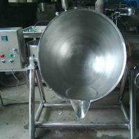 趴羊蹄搅拌锅 立式可倾斜夹层锅