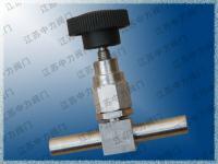 美標系列不銹鋼高壓焊接手動針閥