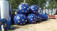 工厂低价转让二手搪瓷反应釜设备 搪玻璃设备
