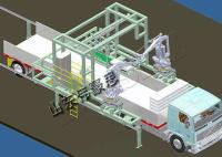 非标定制食盐全自动机械手装车机 无人化高架装车机