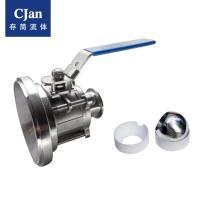 CJan卫生级罐体阀医药级气动罐底全包球阀 BVT