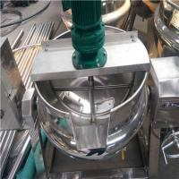 定制不锈钢可倾夹层锅 立式不锈钢炒锅