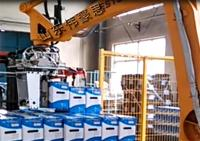 供应罐头全自动码垛机 自动化机械手装车系统