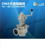 DMM手动换向阀 手动调节阀 卫生级手动阀 焊接/快装 304/316L 球形