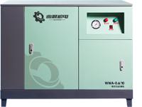 大排量箱式无油空压机