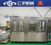 饮料生产线 果汁饮料三合一灌装机设备生产线 小型含气饮料生产线