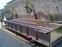 全自动鲜毛豆风选清到了基地附近洗机 安邦机械