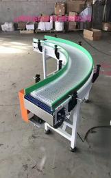 通用设备供应90度皮带转弯输送机滚筒流水线