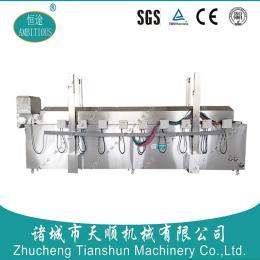 (恒途)品牌商标 沙琪玛油炸机/沙琪玛全自动油炸流水线设备 自动控温自动刮渣