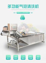 蔬菜清洗机 全自动果蔬气泡清洗设备   豆角清洗流水线