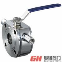 上海贯诺BQ71F-10P BQ71F-16P对夹保温球阀