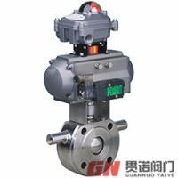 上海贯诺BQ671F-16P超薄型气动保温球阀