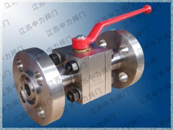 CNG不銹鋼高壓法蘭球閥
