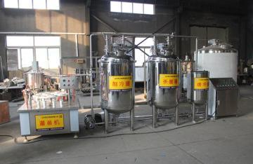 巴氏杀菌机 牛奶加工设备