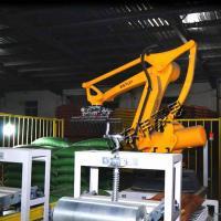 吉林機器人碼垛設備廠家 供應玉米粉高架碼垛機