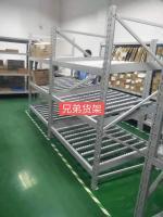 廠家直銷流利式貨架 倉庫倉儲 滑輪式倉庫周轉架 可定制