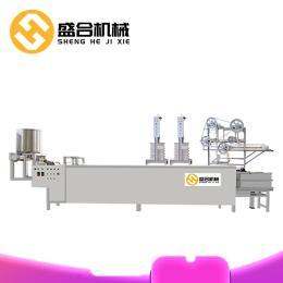 盛合小型干豆腐机生产视频自动多功能