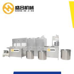 吉林工厂现货豆腐机自产自销盛合蒸汽加热豆腐机