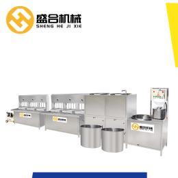 湖北自动灌装内酯豆腐机盛合豆腐机包教技术