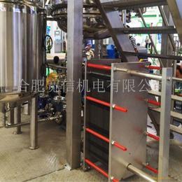 多段式全不銹鋼板式換熱器/多段式板式巴氏殺菌機,食品級板式換熱器